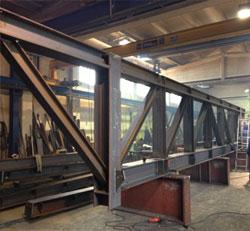 Stahlbau th mmel gmbh for Fachwerkkonstruktion stahl